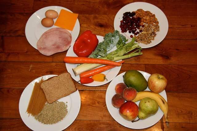 como combinar alimentos de forma correcta
