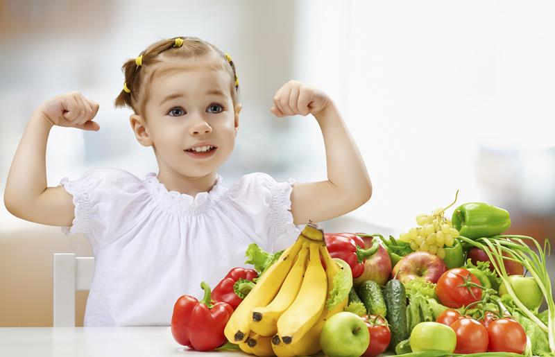 Alimentación de niños de 2 a 3 años
